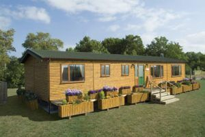 wooden bungallow