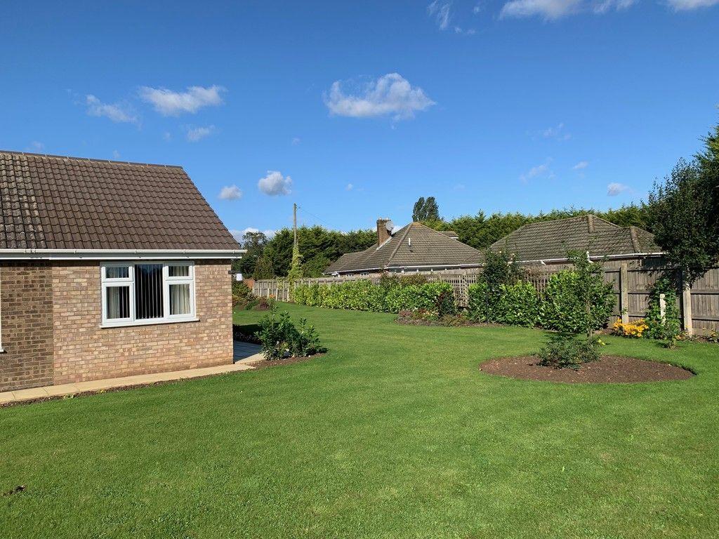 garden of a bungallow