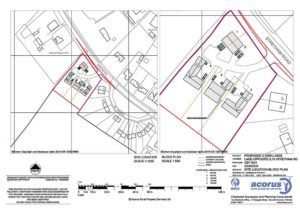 Planning Permission for small residential development - design drawings