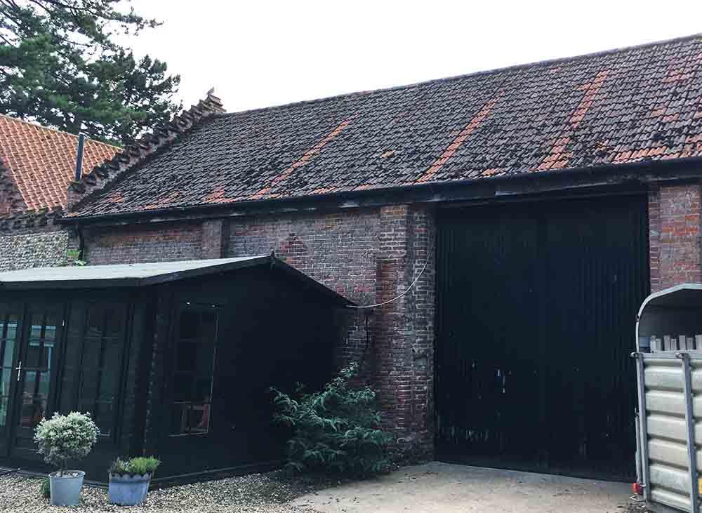 Conversion of Barn to Farm shop - Barn before conversion