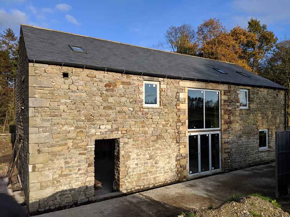 Class Q agricultural to rural proposal now nearly complete - elevation of conversion