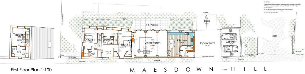 First floor plan of new build