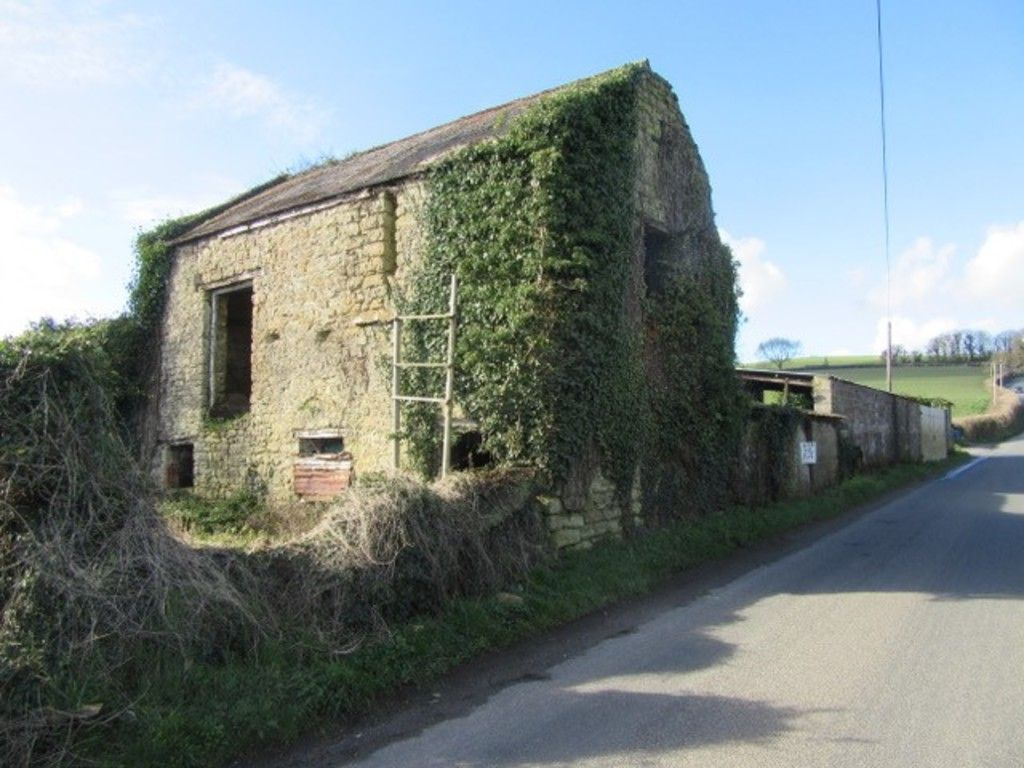 Stone house in countryside