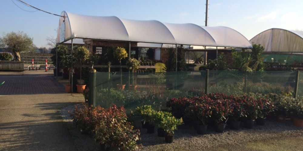 Horticultural poly tunnels