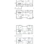 Blueprint layout of house