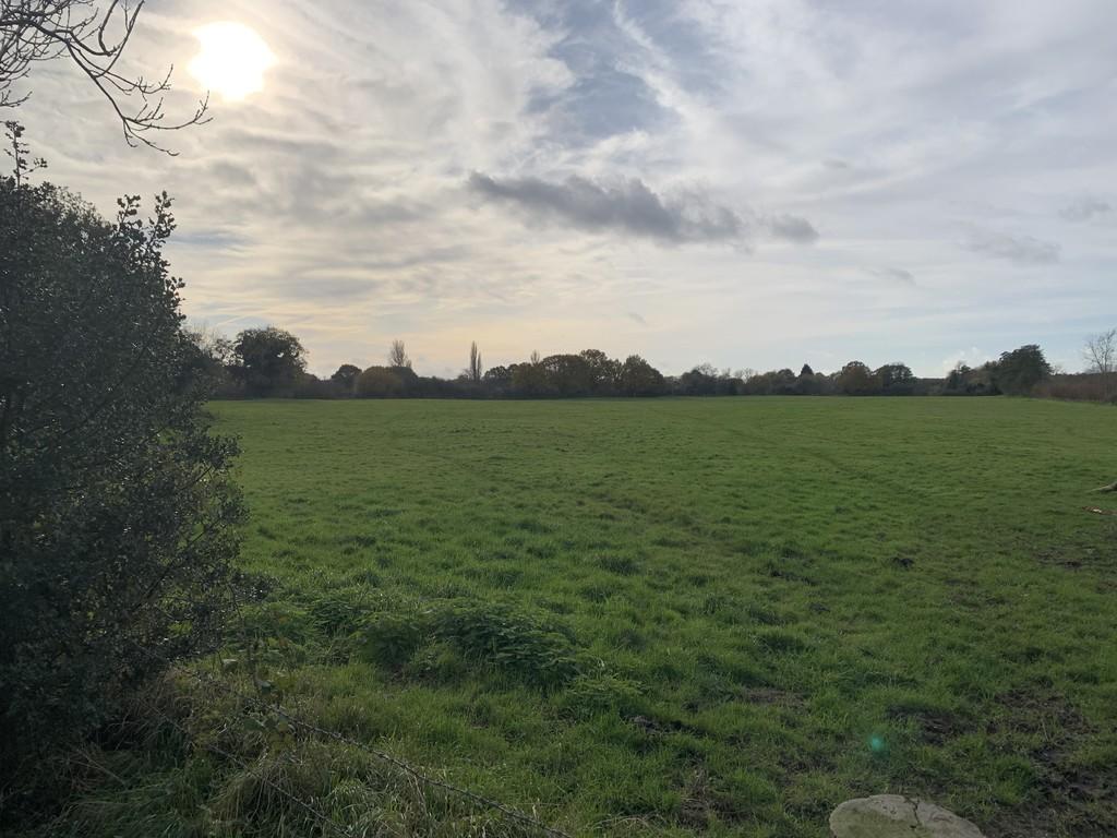 Open countryside field