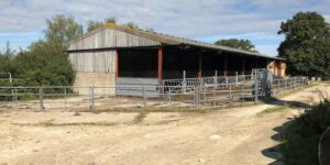 Barn before conversion