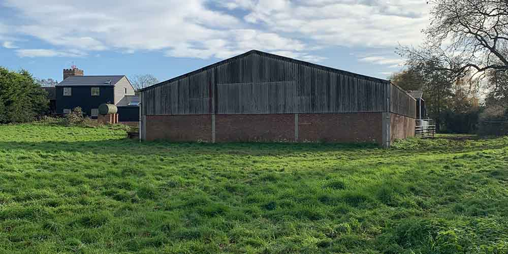 Image of barn as a potential development opportunity